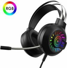 3.5mm Gaming Headset Headphone For PC Mac Nintendo Switch Laptop PS4 Xbox One UK