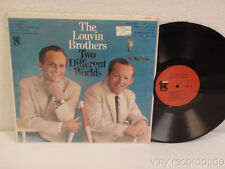 THE LOUVIN BROTHERS Two Different Worlds NM! 1966 LP Tower T 5038