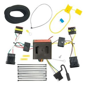 Trailer Wiring Harness Kit For 12-18 FIAT 500 All Styles Plug & Play T-One NEW
