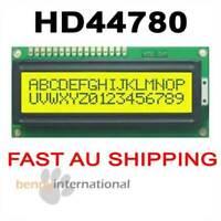 HD44780 1602 LCD DISPLAY MODULE -YELLOW/GREEN Backlight 16X2 PIC Arduino AVR