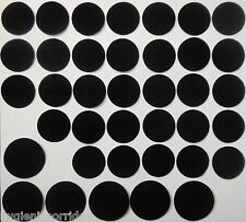 Basing Pads 32mm 40mm Round Self Adhesive Sticky Back Velour for Bloodbowl Bases