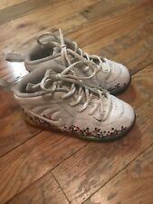 Nike Air Foamposite pro Fruity Pebbles White GS kids 9 bred black 1 pebble foams