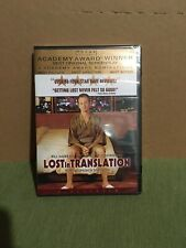 Lost in Translation (Dvd, 2004, Widescreen) New Sealed