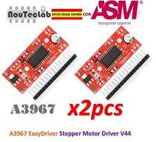 2pcs A3967 EasyDriver Stepper Motor Driver V44 Development Board ENVIO RAPIDO
