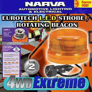 NARVA EUROTECH LED STROBE / ROTATING BEACON CLASS 2 LIGHT COMMERCIAL SITE 85259A
