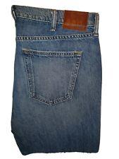 Stylish BNWT denim jeans Abercrombie & Fitch manufactured rips & frays W36 L32