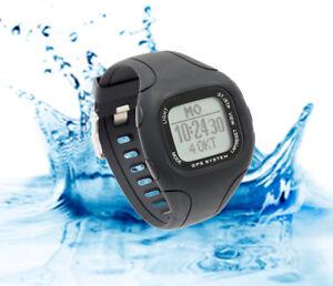GPS Uhr Fitness Tracker Brustgurt Herzfrequenz Puls Kompass Laufuhr Wasserdicht