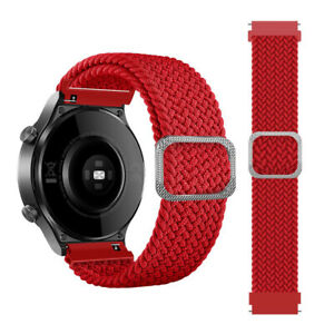 Adjustable Braided Solo Loop Sport Band Strap for Samsung Galaxy Watch 4 42/46mm