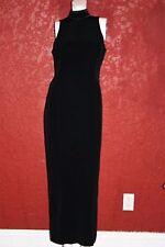 JONES NEW YORK EVENING EVENING MAXI BLACK DRESS SIZE 8