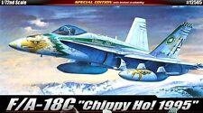 Academy 1/72 F/A-18C Hornet Chippy Ho Aircraft Plastic Model Kit 12505 NIB