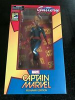 CAPTAIN MARVEL Gallery PVC Figure Mohawk Edition 2016 SDCC Int. Exclusive #1500