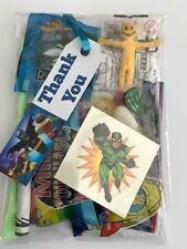 Lego Batman Birthday party bags,pre filled sweet toys,tattoo,colouring,boy/girls