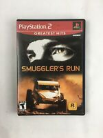 Smugglers Run Greatest Hits Sony PlayStation 2 2002 video game ka CIB Exc Cond