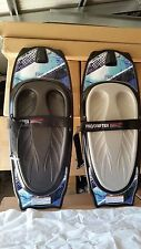 kneeboard CSS prodrifter 2  x 2 boards grey and black pads