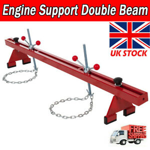 1102lbs Engine Support Beam 500kg Gearbox Bar Traverse Lifter Lift Stand Red UK