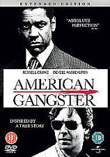 American Gangster DVD Russell Crowe / Denzel Washington  ~ Excellent Condition ~