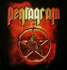 PENTAGRAM cd lgo Open Eyes PENTACLE Official SHIRT XL New OOP day of reckoning