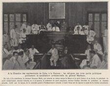 1928  --  CHAMBRE DES REPRESENTANTS DE kuba L274