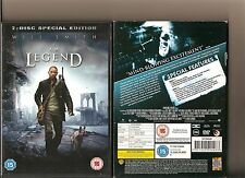 I AM LEGEND DVD 2 DISC SPECIAL EDITION INC HOLOGRAM SLIPCASE WILL SMITH