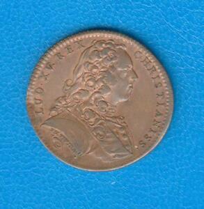 jeton les estats de Lille 1737