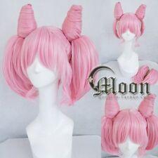 Cosplay Perücke Halloween Kostüm Weiß Sailor Moon Chibiusa Chib lolita Anime