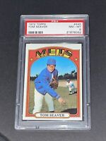 1972 Topps Tom Seaver #445 PSA 8 Gorgeous New York Mets