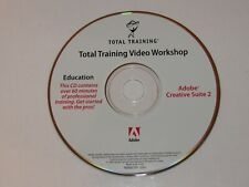 New listing Total Training for Adobe Creative Suite 2: Video Workshop 60 Minutes with Pros