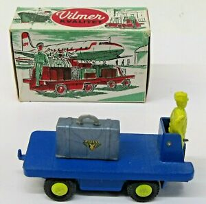 Vilmer #339 Sabena Airline BAGGAGE CART with luggage MINT IN BOX 1/43 diecast