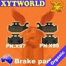 FRONT Brake Pads SUZUKI LT-F 400 King Quad 4WD 2008 2009 2010 2011 2012