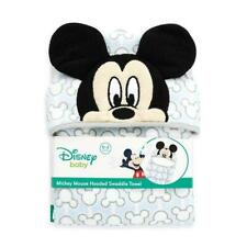 Mickey Mouse Hooded Baby Towel Blanket : Baby Towels : Baby Bath Products