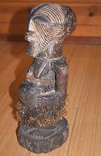 Antique African Songye Power Fetish Nkishi Figure Kifwebe Statue Congo, Africa