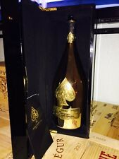 ACE OF SPADES 750ML (Armand de Brignac) CHAMPAGNE BOTTLE-CASE-KOZIE COMBO! EMPTY