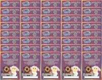 40x - WEBKINZ SERIES 4 FEATURE CODE CARDS (Forty Card Lot) New Unused Codes