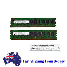 MT 4GB (2 X 2GB) 1RX4 PC3-10600R  REG ECC Server Memory Ram