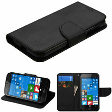 For ACER Liquid M330 Leather Flip Wallet Case Cover Magnet Clip Hybrid Stand