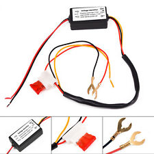 Car Drl Daytime Running Light Relay Harness Switch Control Kit Dimming On/off