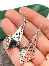 .925 Jewelry - Lightweight! Taxco Mexican Earrings Sterling Silver