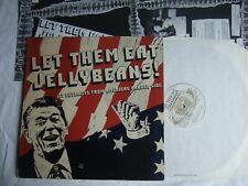 LET THEM EAT JELLYBEANS LP w Poster Dead Kennedys Flipper Bad Brains Black Flag