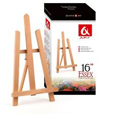 "16"" - A4 Size Color Table Top Display Beech Wood artist Art Easel Craft Wooden"