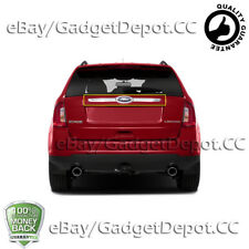 For 2012-2014 FORD EDGE Chrome Rear Trunk Streamer/ Tailgate Cover Trim Logo Cut