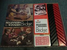 Bridge Beginners to Winners Vintage Card Game 1972 By Vic-Toy For 2 Players