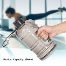 Water Bottle Kettle 2.2L Sports Outdoor Cup Plastic Camping Gym Large Capacity