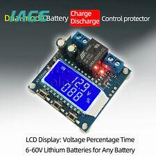 6-60V LCD Batterie Ladesteuerung Ladegerät DC Voltage Protector