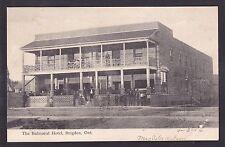 Circa 1906 Vintage Postcard The Balmoral Hotel BRIGDEN, Ontario, Canada
