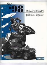 1998 Yamaha Motorcycle / Atv Technical Update Manual