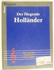 vocal score WAGNER der fliegende hollander , koenmann