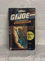 1986 Milton Bradley GI Joe Action Card unopened pack
