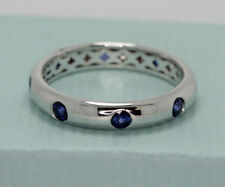 Wedding White Gold Sapphire Fine Rings