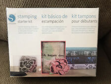 SILHOUETTE Stamping Starter Kit Create Your Own Custom Stamps