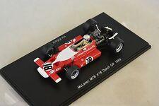 Spark S3126 - McLAREN M7B n°18 GP F1 Pays Bas 1969 Vic Elford  1/43